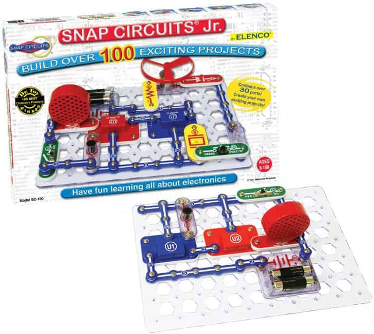 This is a great STEM toy for boys to learn electronics