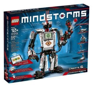 Lego Mindstorms is our number one best stem toy for adults to develop coding and engineering skills