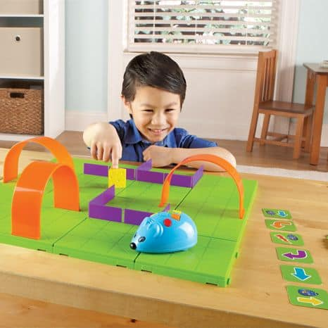 Code and go mouse set is another great stem toy for learning coding and sequencing