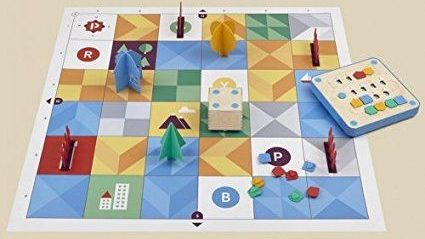 The Cubetto games mat