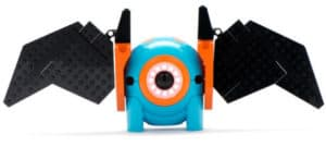 Dot robot can be attached to lego pieces, a great STEM toy for creativity!