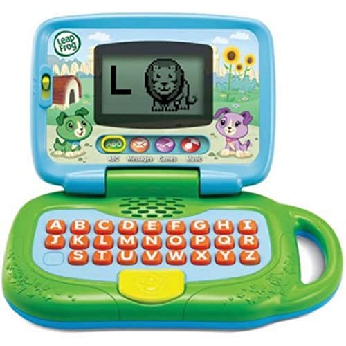 Leapfrogs laptop is a more advanced STEM toy for toddlers to learn computing skills