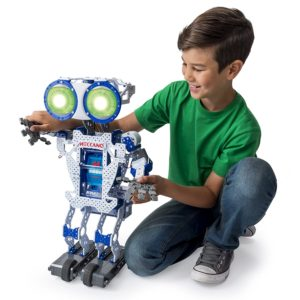 The Meccanoid 2.0 is one of the best stem toys for boy for learning basic robotics