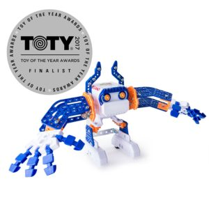 Micronoids are a cheap and easy stem toy for boys to learn robotics