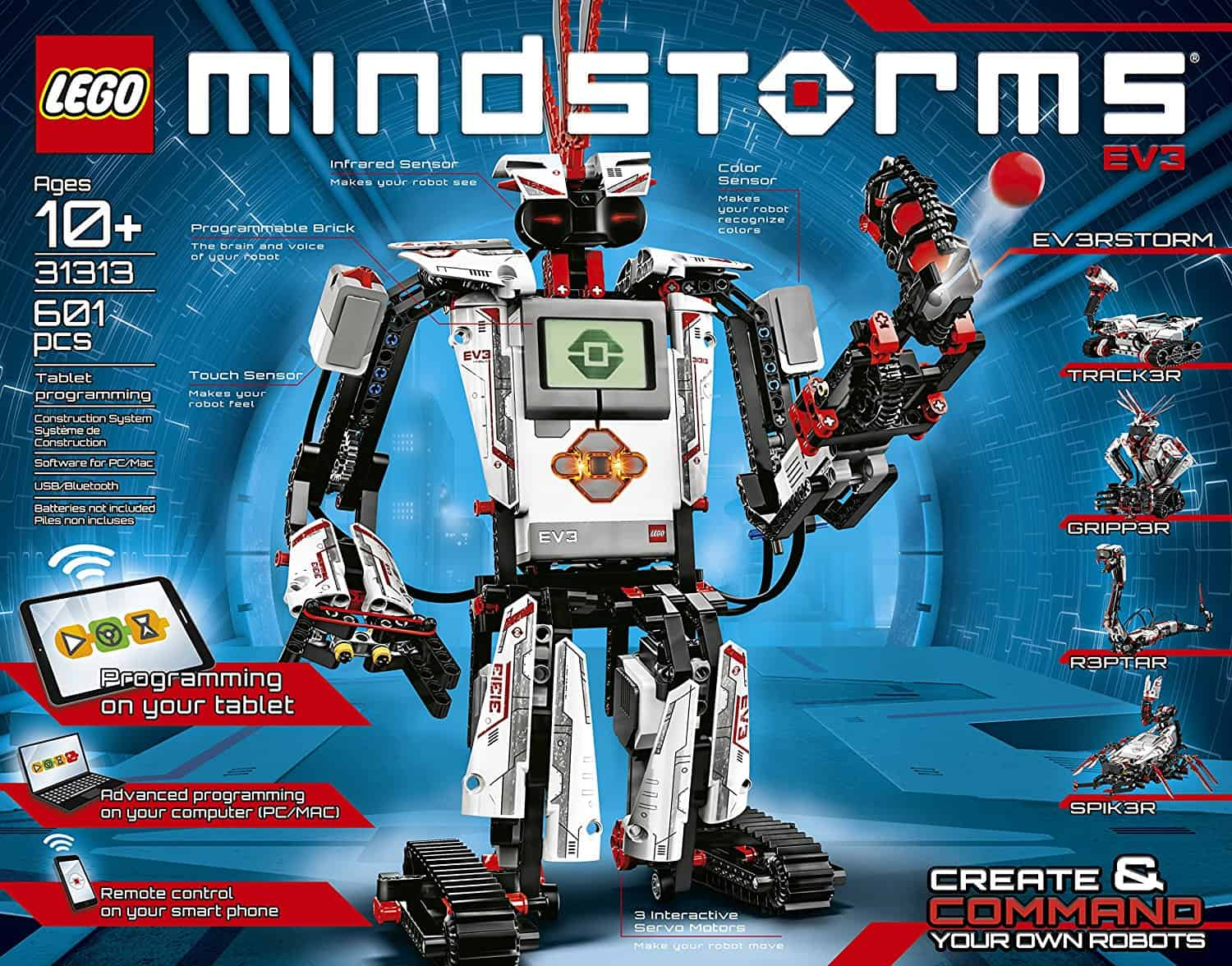 Mindstorms is the best stem toy for teens in 2018 for adults learning to code and robotics