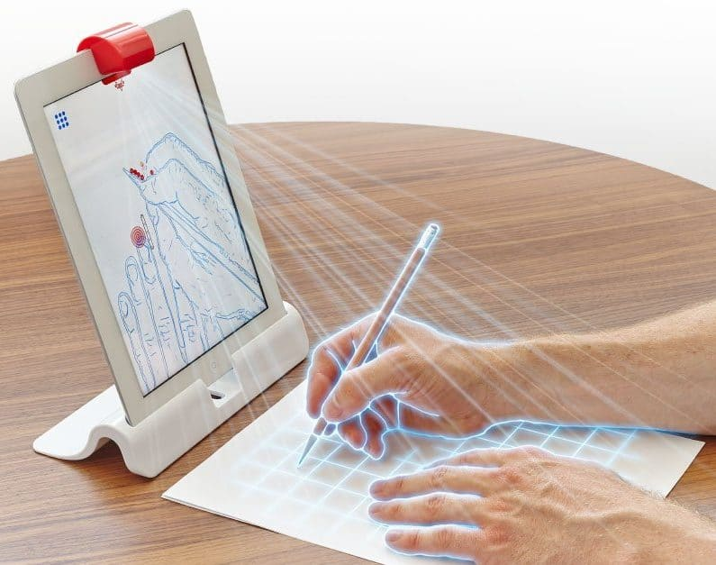 The osmo starter kit is a stem toy for tweens which teaches creativity, coding, problem solving and more!