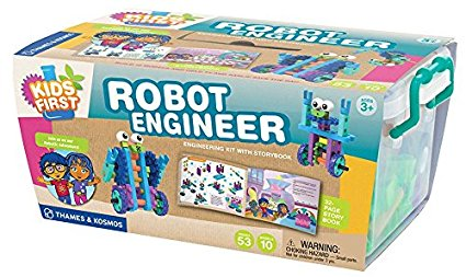 My first robot engineer kit is one of the best stem toys for preschoolers for developing engineering skills in 2017
