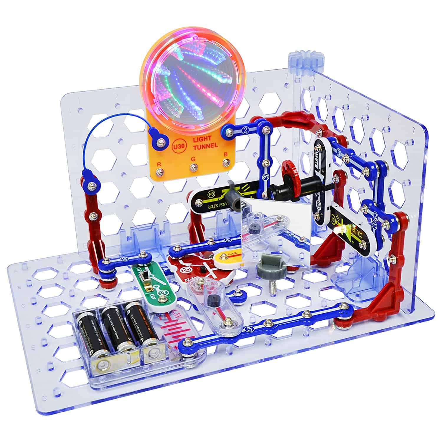 This awesome new addition to the snap circuits family is a great electronics STEM toy for tweens in 2017