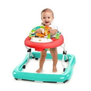 The bright starts walker is a perfect babies toy for developing motor skills