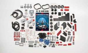 The lego mindstorms components