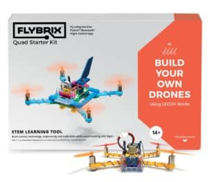 Flybrix is a great DIY drone kit for kids to experiment with Lego drones
