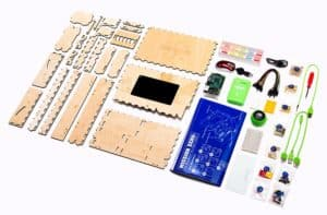 The Piper computer building kit components