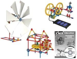 This K'nex kit is one of the best renewable energy solar toys in 2018