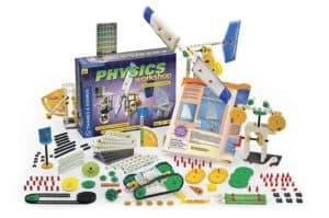 Thames & Kosmos Physics Workshop is one of the best science kits in 2018 for learning mechanical physics
