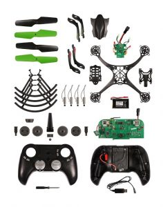 A great build your own drone kit for teens to learn electronics