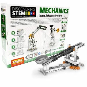 The Engino linkages set is a great STEM toy for leaning engineering and physics