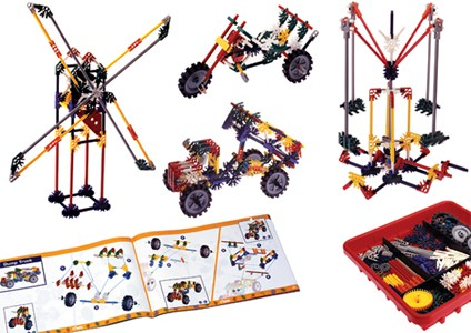 A classic STEM toy for learning mechanical engineering