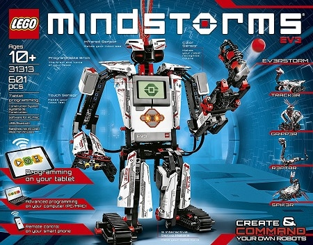 We recommend LEGO Mindstorms as the top STEM toy for learning tons of STEM skills
