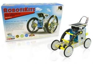 A Top STEM Toy for learning about solar through construction