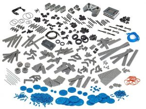 The vex engineering adults kit features 750 parts