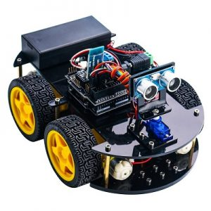 The elegoo car is one of the best engineering toys for adults to learn both mechanical and electrical