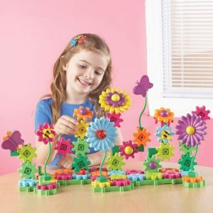 This cool little set is a STEM toy for girls which teaches sequencing and cause & effect