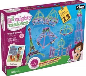 K'nex mighty makers is another great engineering toy for girls to learn STEM