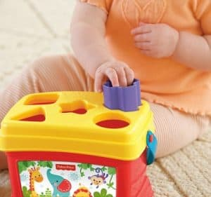 A great educational toy for babies to learn hand eye coordination