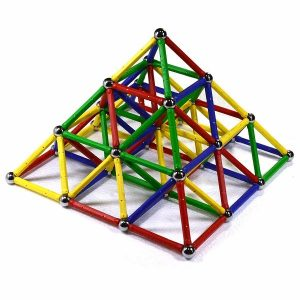 One of the best kids magnetic building toys for pyramids