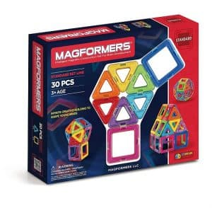 Probably the most popular magnet building toy for kids to learn STEM