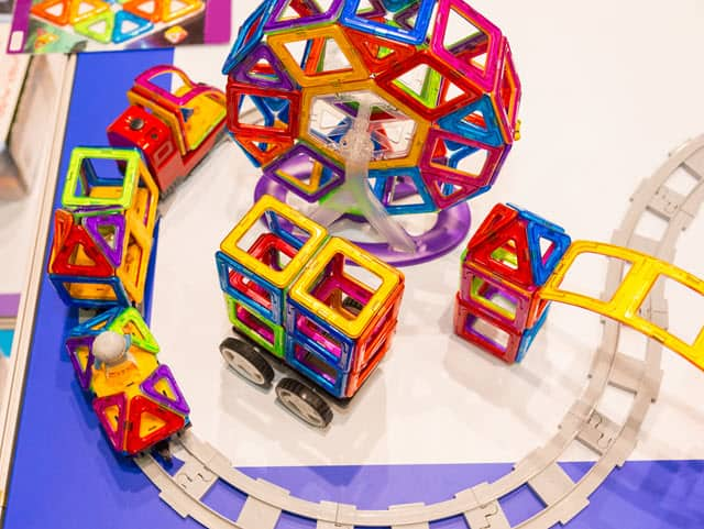 Magformers - among the best magnetic building toys for toddlers