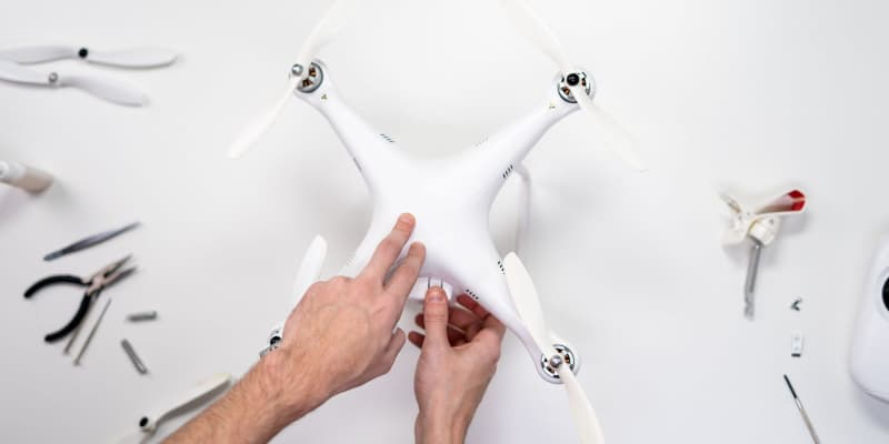 Assembling drones for beginners