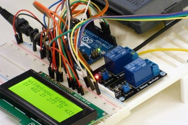 Arduino uno kit used for a project
