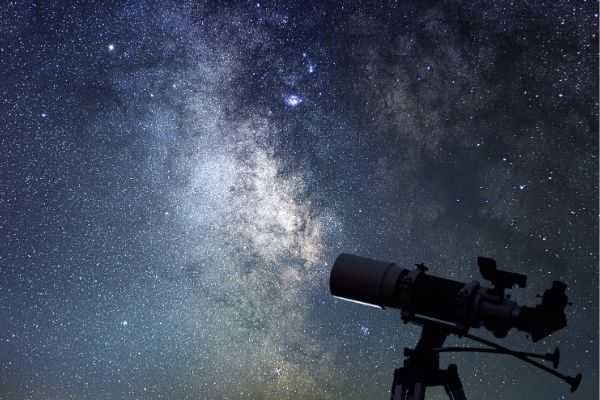 Telescope ready for deep space viewing