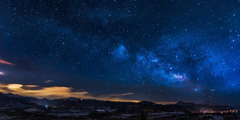Looking at the sky at night - astronomy projects