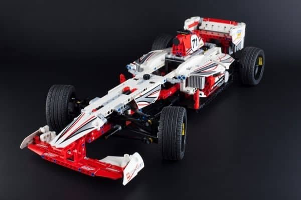Lego car build for adults