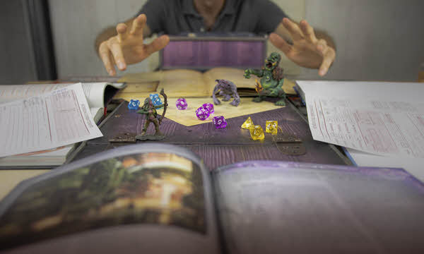 Dungeons and dragons - unlimited relief from boredom