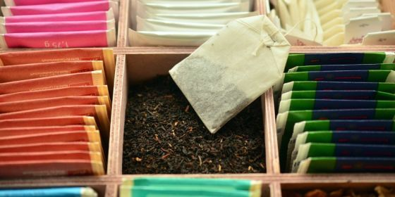 Flying Tea Bags is an easy kitchen science experiment