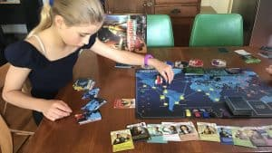 Setting up Pandemic - one of the best educational board games