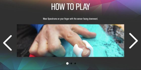 SpecDrum Mix app - How to play - Step 1