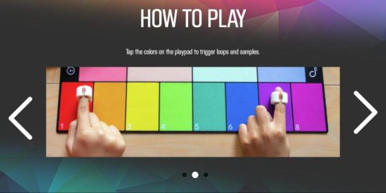 SpecDrum Mix app - How to play - Step 2
