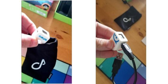 Sphero SpecDrum - charger and bag