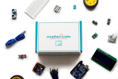 Creation Crate electronics subscription box