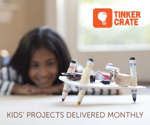 KiwiCo Tinker Crate - a great Craft Kit subscription