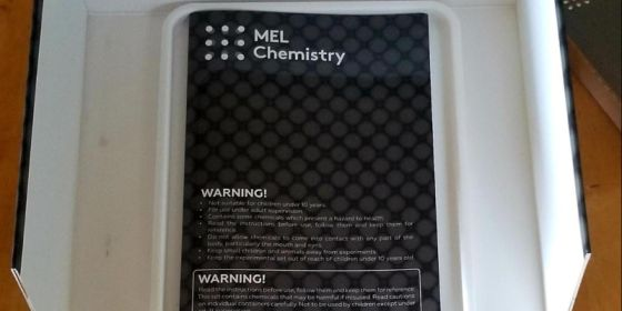 MEL chemistry kit guide book