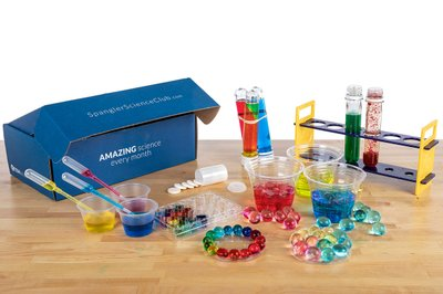 Spangler Science Club boxes