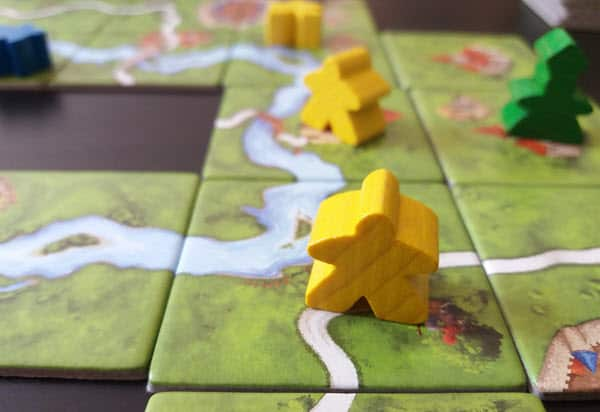 Claiming roads is part of Carcassonne strategy