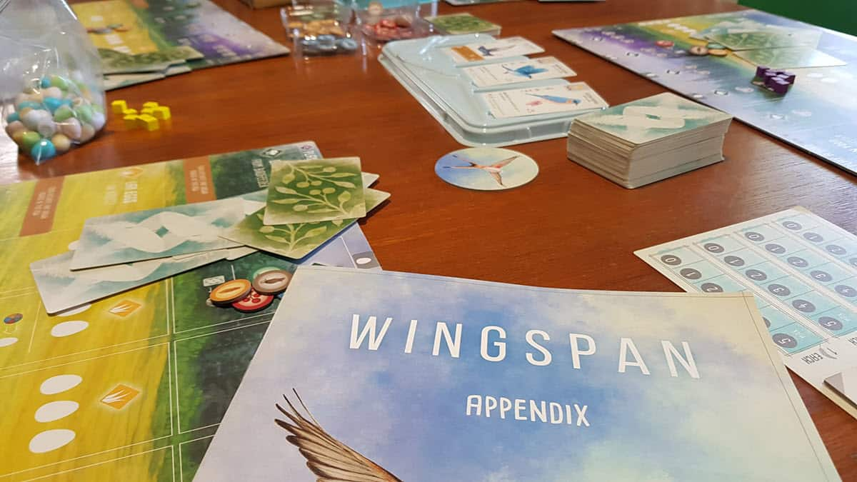 Best Science Board Games - Wingspan