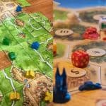 Carcassonne vs Catan