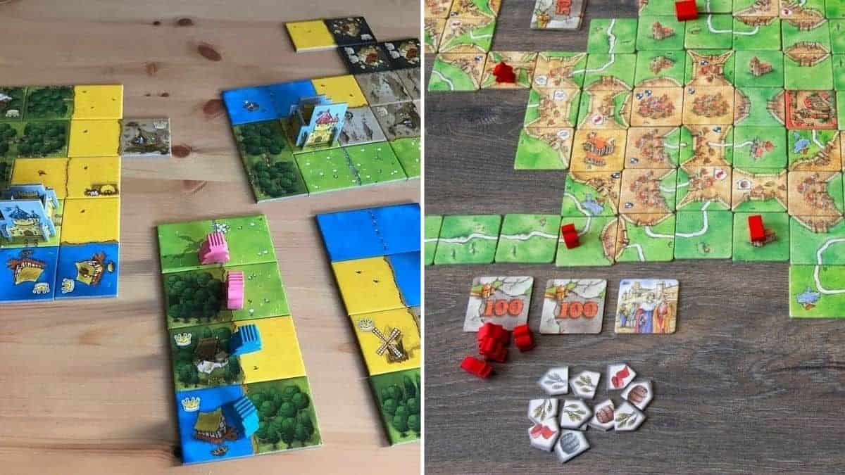 Kingdomino vs Carcassonne – Which Tile Game is Best